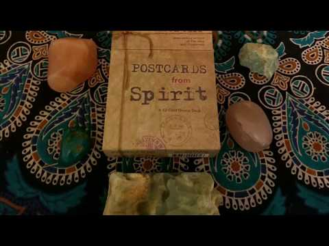 Unboxing of Postcards from Spirit!