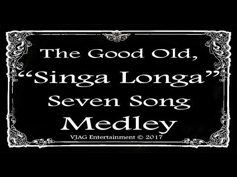 Music Hall Medley  7 Songs  10 minutes Total  ViC Gilmore © 2017