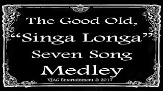 Music Hall Medley 7 Songs 10 Minutes Total Vic Gilmore 2017 Karaoke Youtube