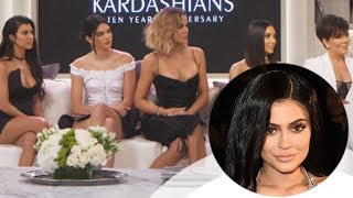 Kylie Jenner SKIPS OUT on Kardashian 10th Year Anniversary Interview Special