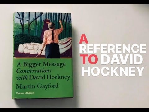 A Reference to David Hockney