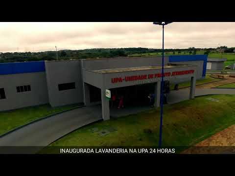 22-02-18 inauguração da lavanderia da UPA 24 horas