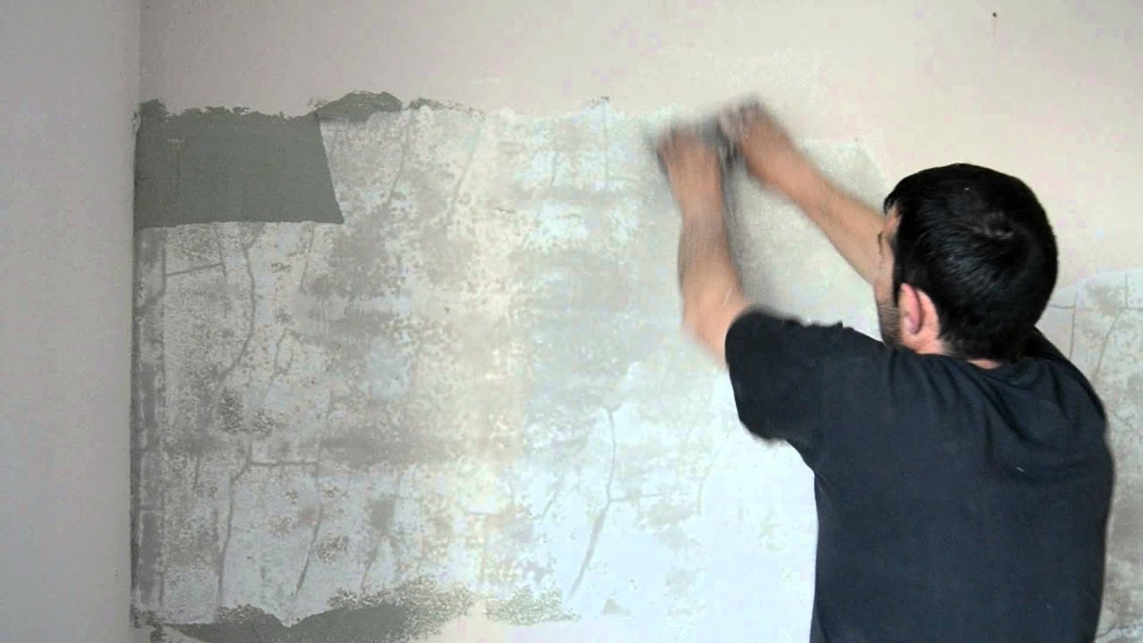 Tipos De Pintura Para Pared Como Quitar Gotele Plastico Facil Y Sencillo - Youtube