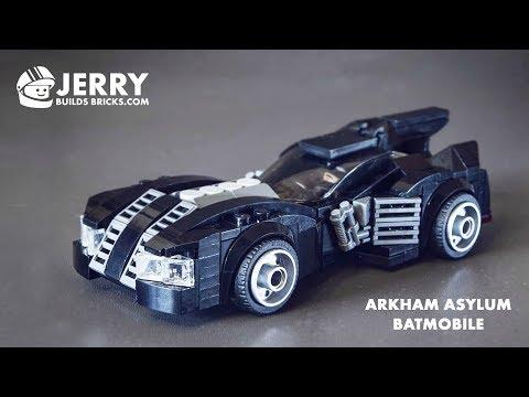 LEGO Batmobile From Batman: Arkham Asylum Instructions (MOC #33)