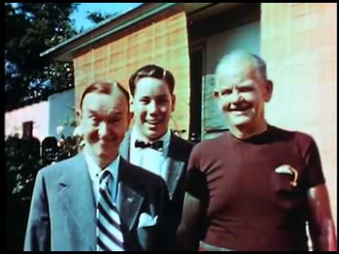 Laurel & Hardy Silent Home Movie c.1956