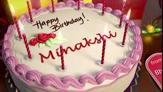 Happy Birthday Minakshi