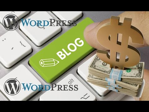 How To Earn Money $$ Blogging through Your WordPress Blog & Google Adsense Ads Complete Video