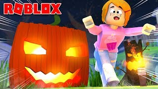 Roblox Escape The Giant Pumpkin With Molly!