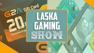 Nie gram w gry z G2A na Nintendo Switch Lite - Laska Gaming Show