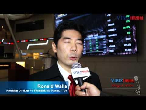 Wismilak Emiten Rokok Keempat di BEI, Ronald Walla, Vbiznews, 26 Jan 2012