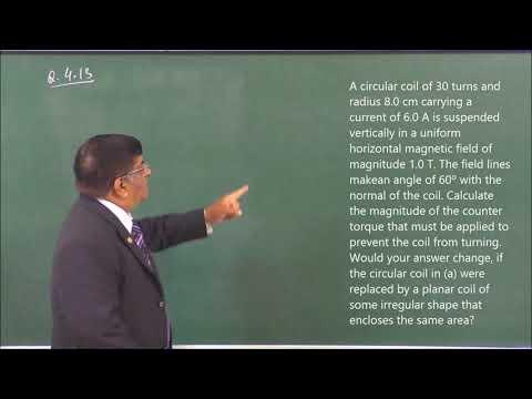 XII-4-16 NCERT Exercise-2(2-17) Pradeep Kshetrapal Physics channel