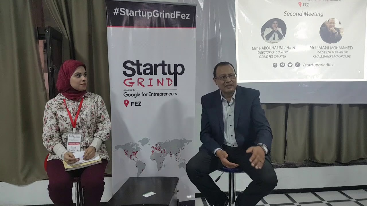 Mohammed Limani (Challenger Lima Groupe) - Startup Grind Fez Chapter