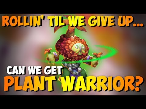 Can We Get The Plant Warrior?!