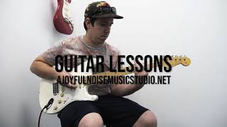 Guitar Lessons at A Joyful Noise Music Studio