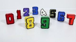 Игрушка ТРАНСФОРМЕР цифры-трансформеры (машинки ТРАНСБОТЫ)  Игры и игрушки для мальчиков
