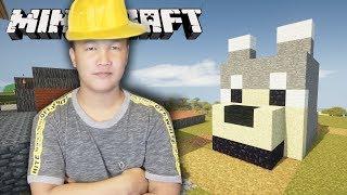 វិស្វករសាងសង់ផ្ទះឆ្កែ | Minecraft Khmer Adventure - Episode 14
