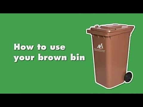Recycle for North Ayrshire: How to use your brown bin