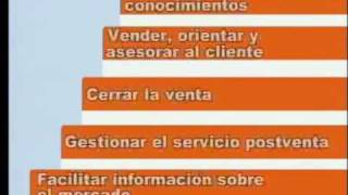 Vendedor / Vendedora. Ocupaciones. SAE.