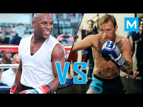 Thumbnail: Conor Mcgregor VS Floyd Mayweather | Muscle Madness