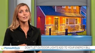 Don't let outdoor lights add to your energy bill