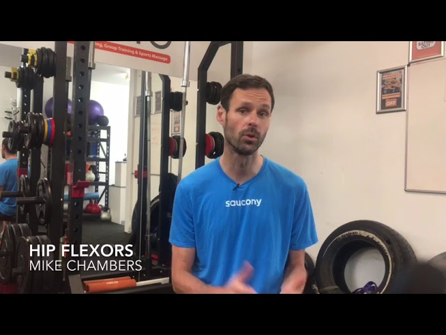 Hip flexor strengthening - this week Mike gives us an insight to the all important hip flexors...