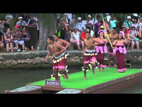 Samoa Dance at Polynesian Cultural Center Hawaii