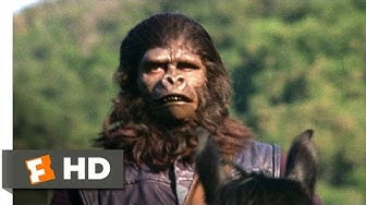 Planet of the Apes (1/5) Movie CLIP - The Human Hunt (1968) HD