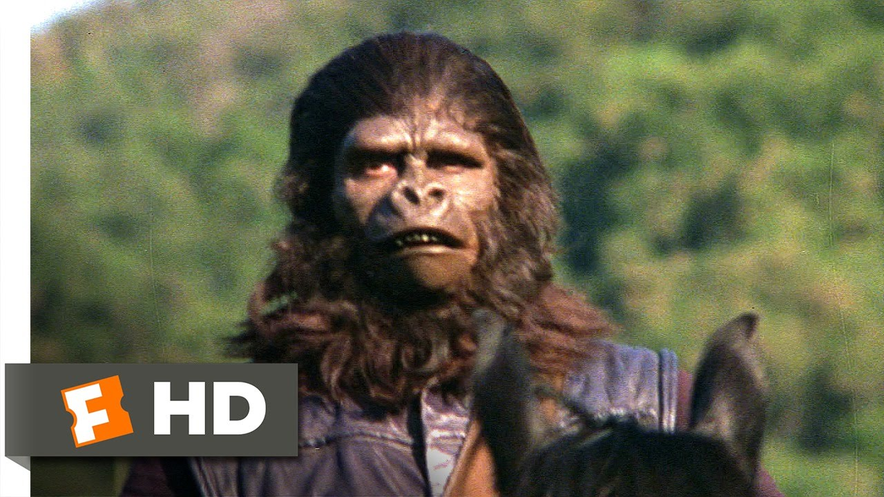 Planet Of The Apes 1 5 Movie Clip The Human Hunt 1968 Hd Youtube