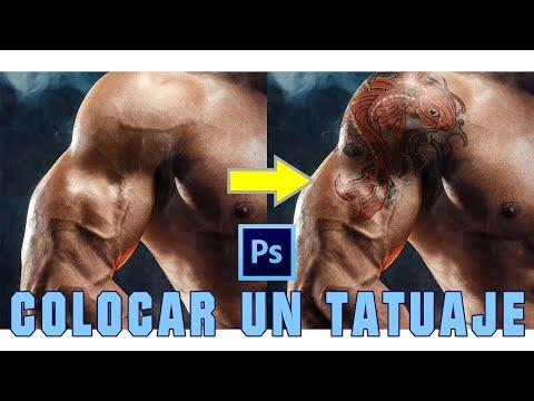 Colocar TATUAJE REALISTA Con PHOTOSHOP