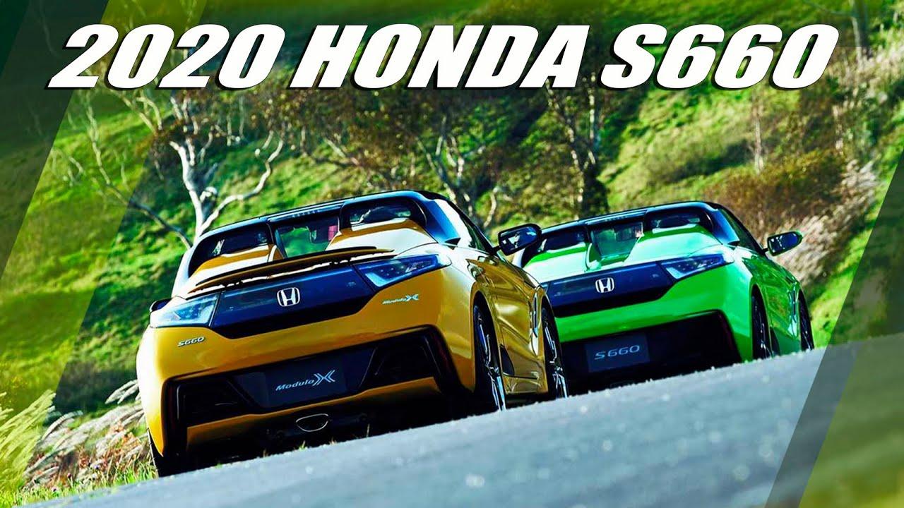 New 2020 HONDA S660 Unveiled - YouTube