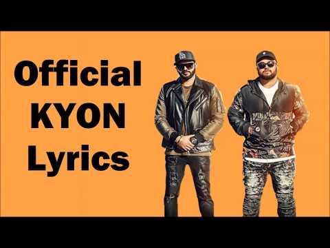Kyon - (Lyrics + Karaoke) Feat. Roach Killa   Harj Nagra   Deep Jandu   New Punjabi Hit Song 2018