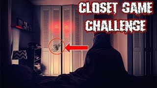 (WHATS IN THE CLOSET?!) CLOSET GAME CHALLENGE AT 3 AM | DONT LEAVE THE CLOSET OPEN AT 3 AM