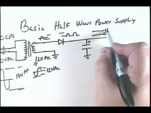 Basic Electronics 18 - Solid State Diode and Power Supplies