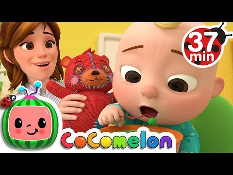 Yes Yes Vegetables Song  +More Nursery Rhymes  Cocomelon ABCkidTV