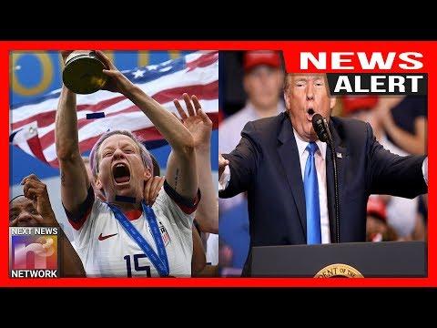 Steve Knoll - U.S. Women's Soccer Team Desecrate the American Flag
