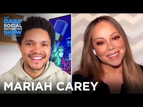 Mariah Carey - Sharing Personal Stories in Her Memoir   The Daily Social Distancing Show