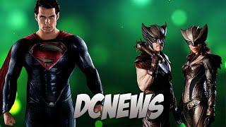 DCNews #2 - Легенды, Человек из Стали 2 и Злодей в Отряде!