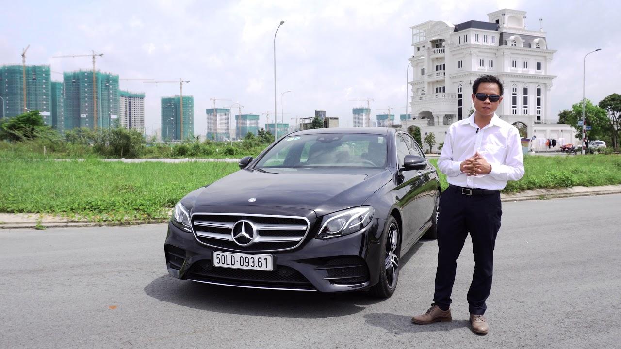 Lái thử Mercedes-Benz E300 AMG 2017; êm ái, sang trọng và đầy công nghệ