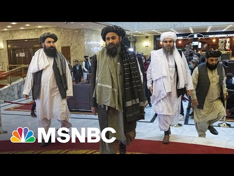 'An Incredible Full Circle Event': CIA Target Taliban Leader Freed By Trump Meets With CIA