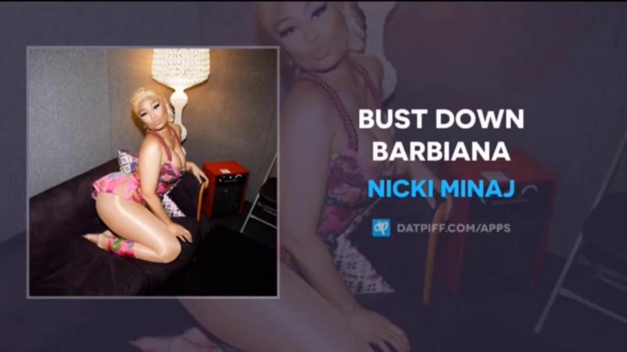 Bust down barbiana [CLEAN] -Nicki Minaj (Thotiana Remix) [lyrics in  description]