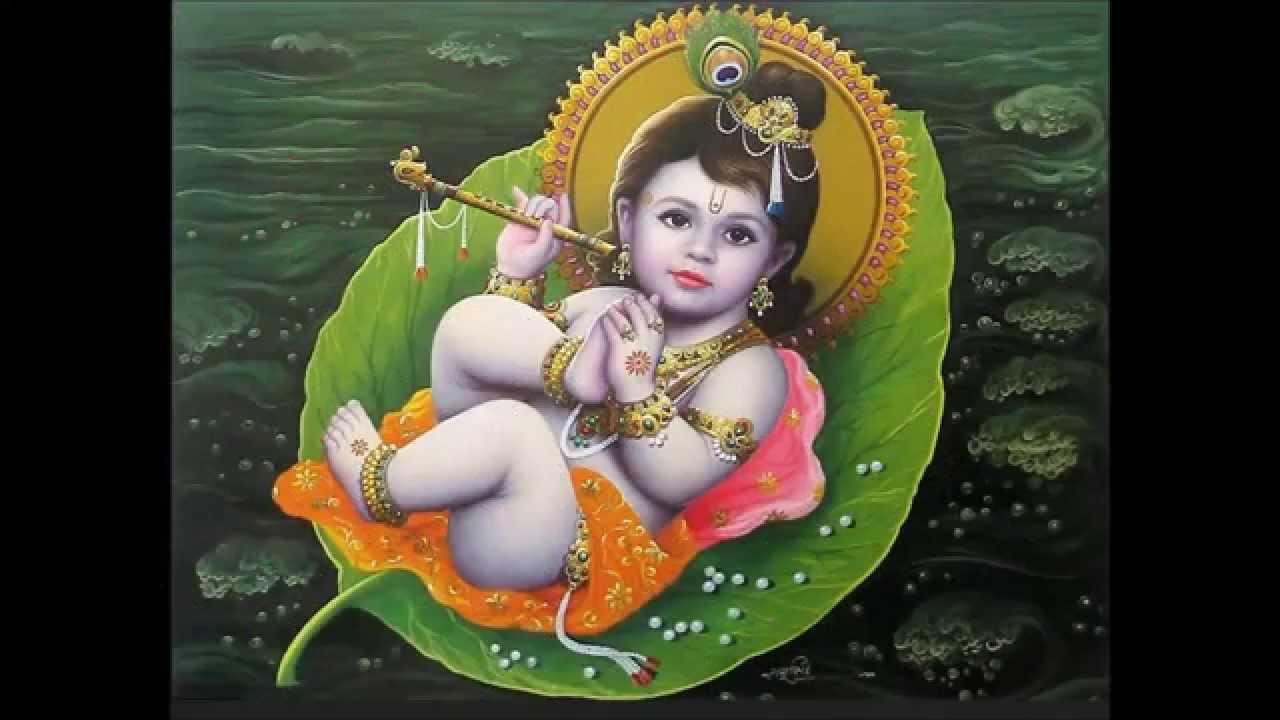 Little Krishna Song For Kids-Krishna Mangalam-cute Chubby