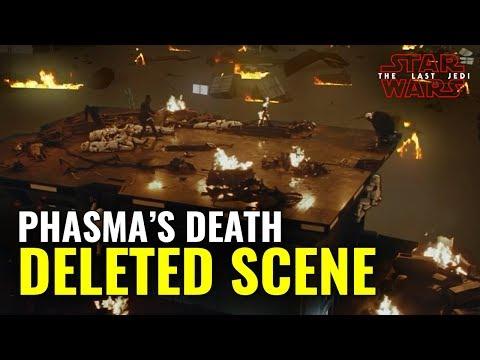 Captain Phasma - DELETED SCENE - Star Wars: The Last Jedi