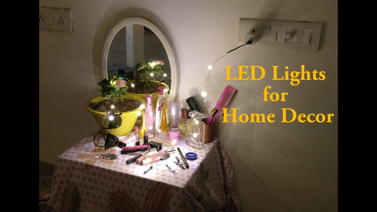 Led Lights For Home Decor The Bedroom Living Room Youtube