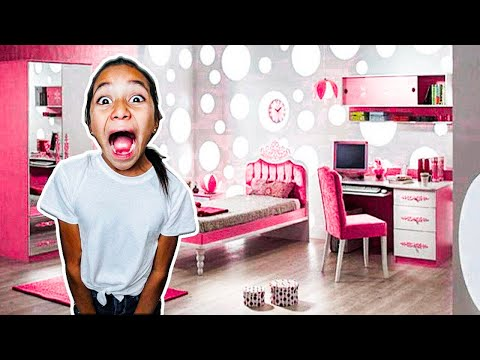 ROOM TOUR!!! Surprise Makeover for NAYVEE!