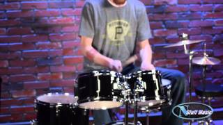 Ludwig Accent CS Combo Junior Drum Set | N Stuff Music Product Review