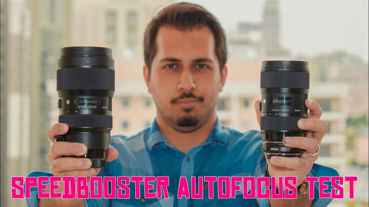 Sigma 18-35/50-100 + Speedbooster + Panasonic GH5/G9 Autofocus Test!