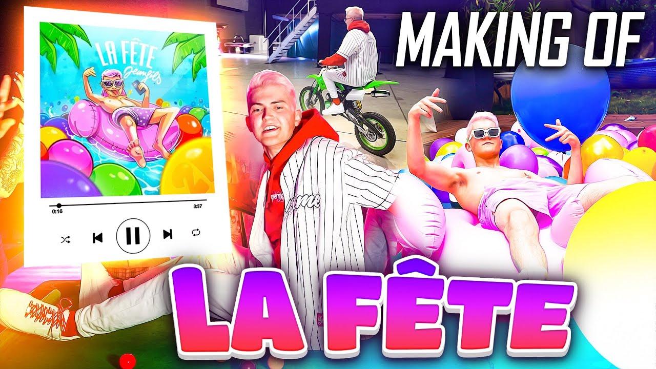 Download Le MEILLEUR TOURNAGE de ma VIE ! (Making Of La fête)