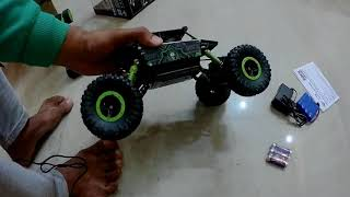Cheap And Best Rock Crawler 4WD Rally Car ₹1,699 Unboxing And Review With Realtime play demo
