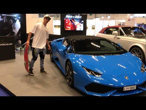 cars in Dubai  car park