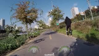 샤오미 미지아 4K 자전거 블랙박스 주행영상